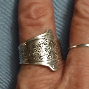Jewelry - Spoon ring, sterling silver